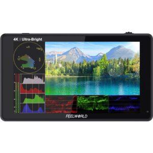 FeelWorld LUT6S 6'' 4K HDMI/3G-SDI Touchscreen Monitor