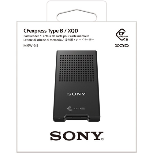 Sony MRW-G1 CFexpress Type B/XQD Memory Card Reader