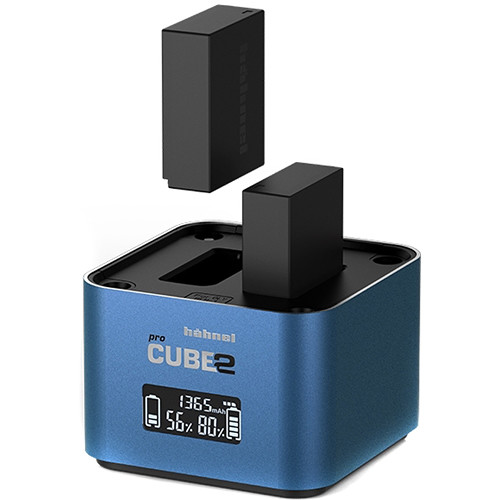 hahnel Professional Charger PROCUBE2 for Select Fujifilm:Panasonic Batteries