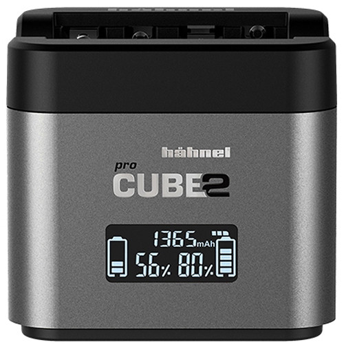 hahnel Professional Charger PROCUBE2 for Select Nikon Batteries