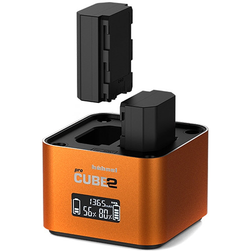 hahnel Professional Charger PROCUBE2 for Select Sony Batteries