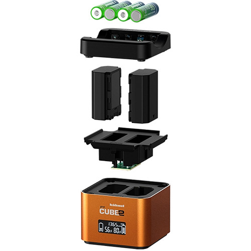hahnel Professional Charger PROCUBE2 for Select Sony Batteries.